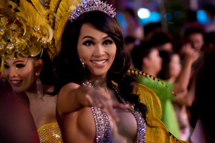 Ladyboy Thaimaa