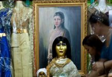 Mae Naak kummitus Bangkok