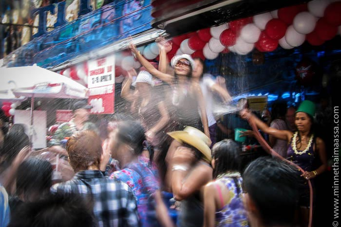 Songkran thaimaa