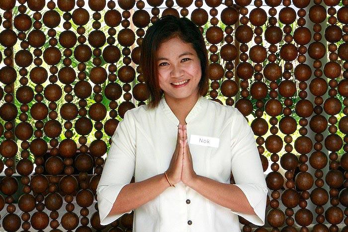 Thaimaa wai tervehdys