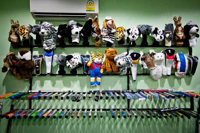 Hua Hin Golf Shop Thaimaa mailansuojia
