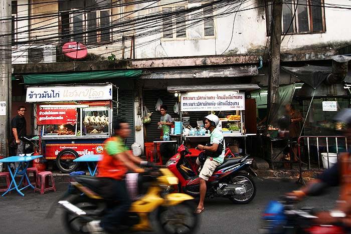 Katukeittiöitä-Bangkokissa
