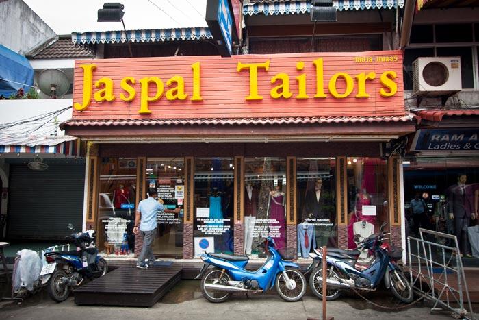 Jaspal Tailors räätäli Phuket