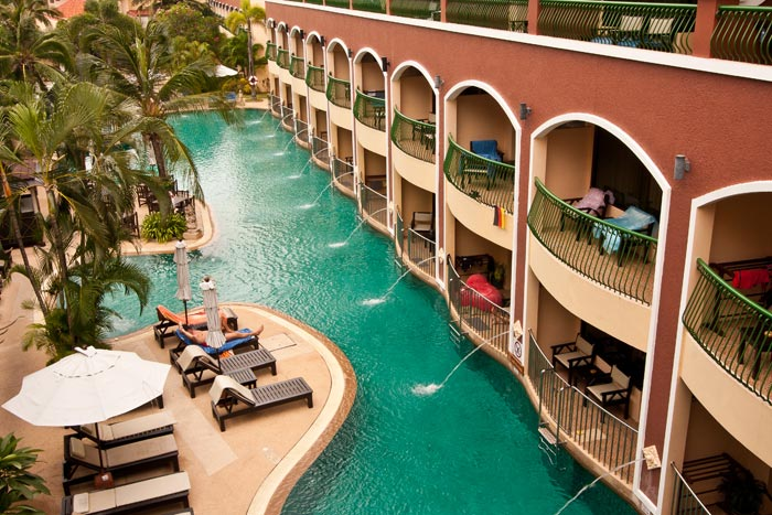 Hyvä perhehotelli Phuket