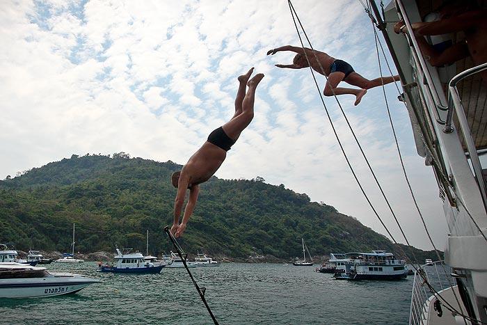 Kalastus Phuket Thaimaa