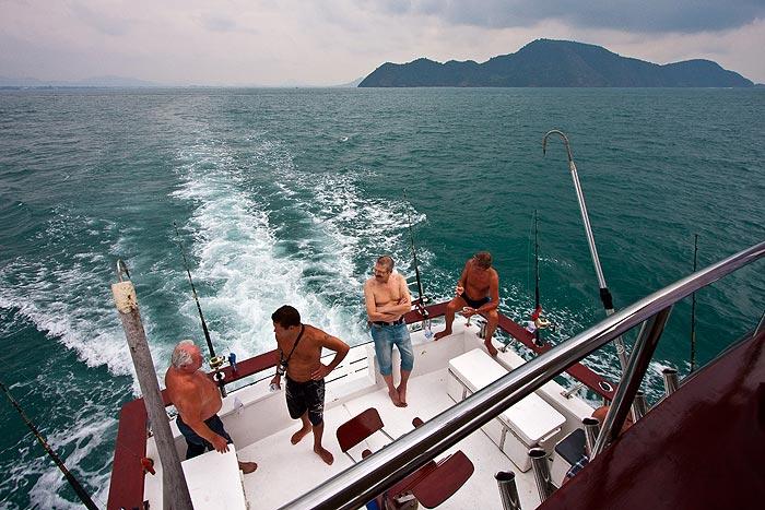Thaimaa valtamerikalastus Phuket
