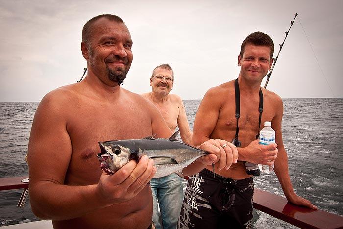 Thaimaa kalastus Phuket