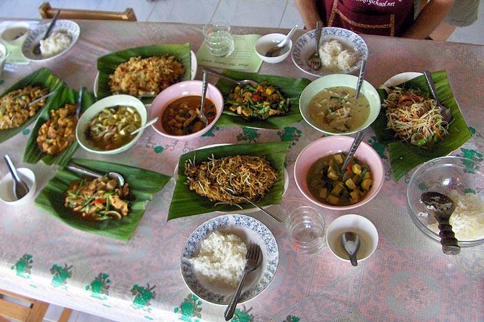 Thaimaa kokkikurssi Ao Nang