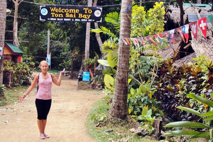 Ao Tonsai Krabi Thaimaa