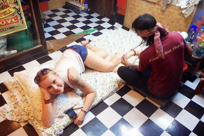 thaimaa bambu tatuointi