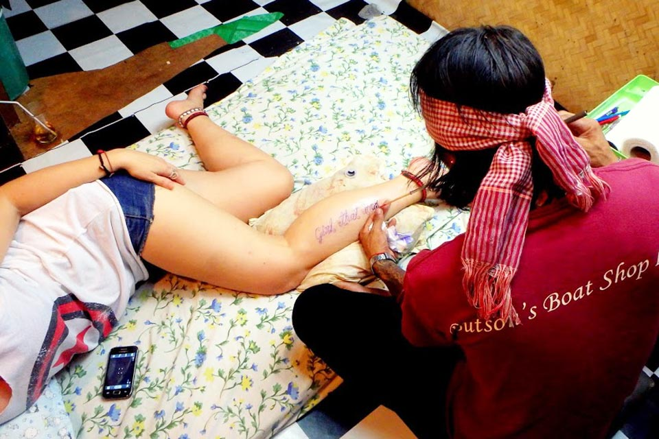 Thaimaa tatuointi