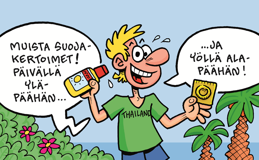 kondomit thaimaa