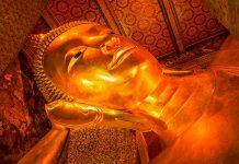 Wat Pho temppeli Buddha