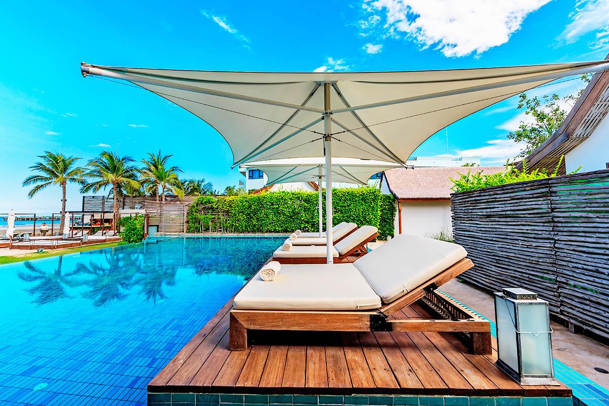 thaimaa hua hin hotelli uima-allas
