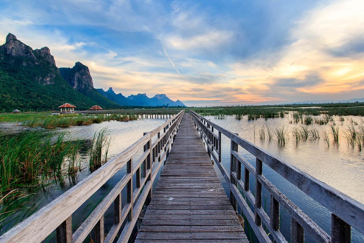 thaimaa Khao Sam Roi Yot kansallispuisto