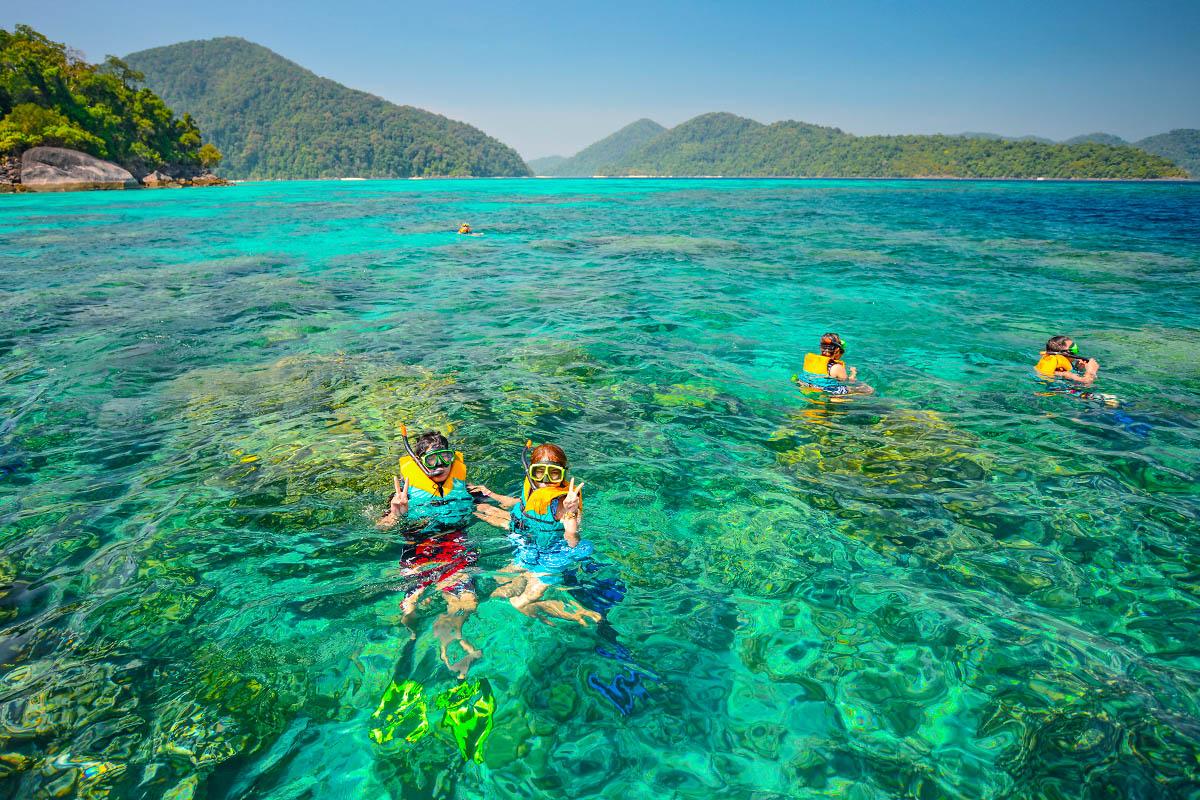 thaimaa surin snorklaus