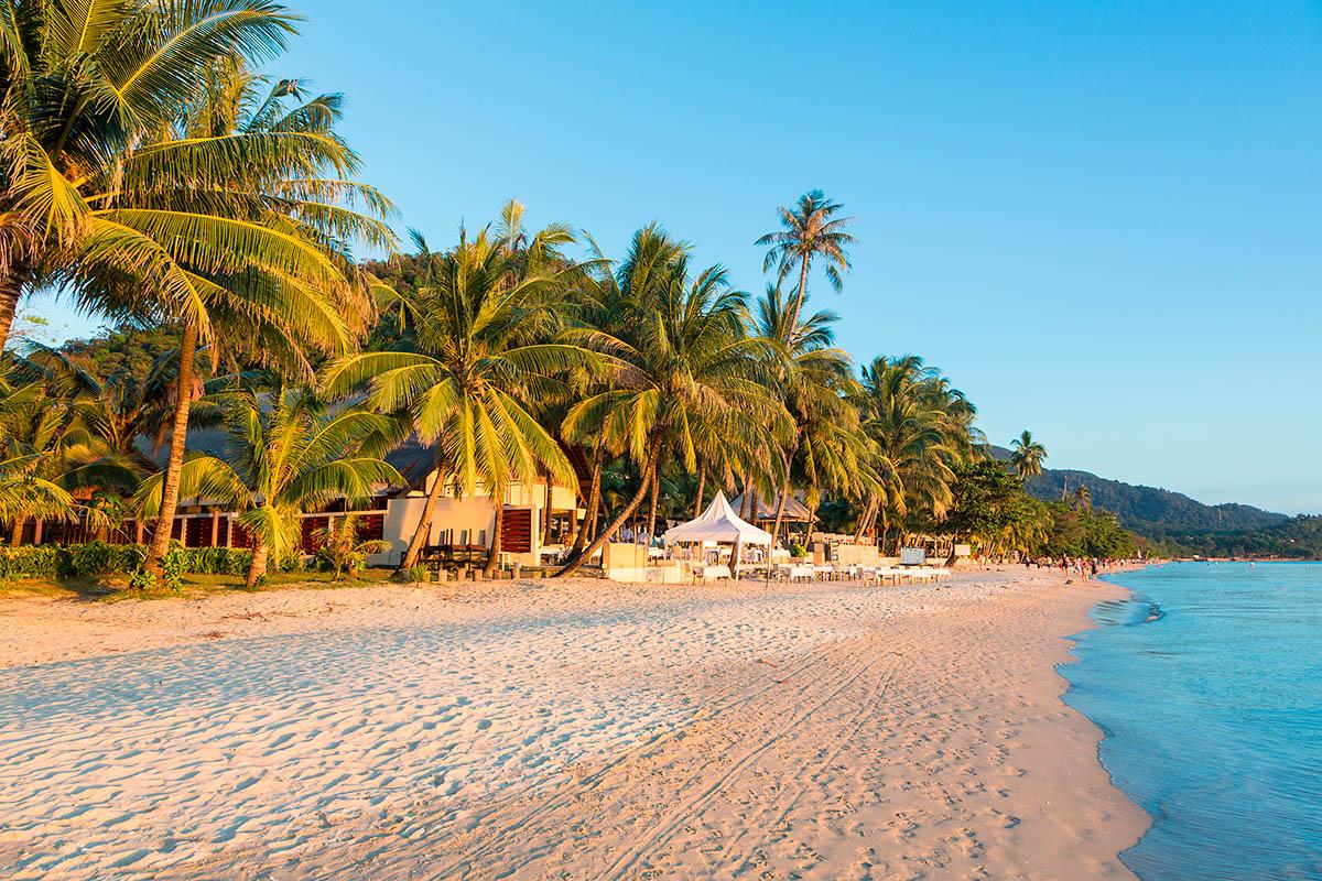 thaimaa koh chang hiekkaranta
