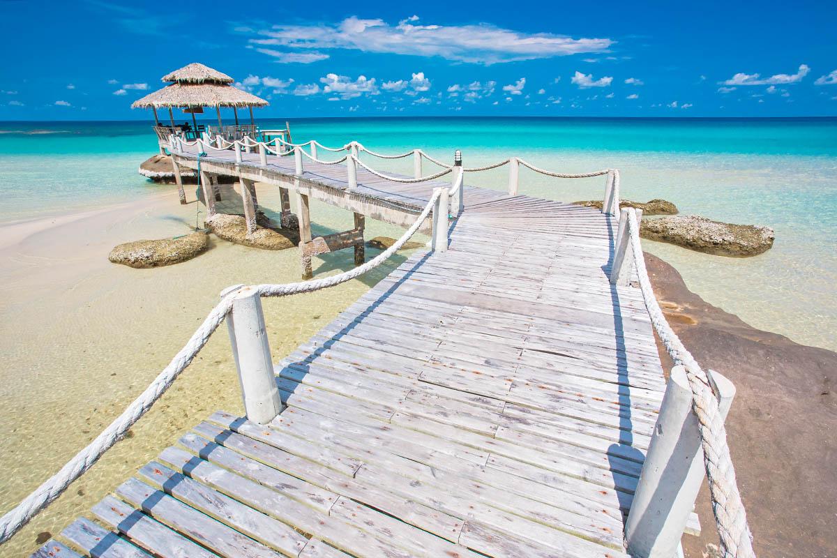 thaimaa koh kood ranta laituri