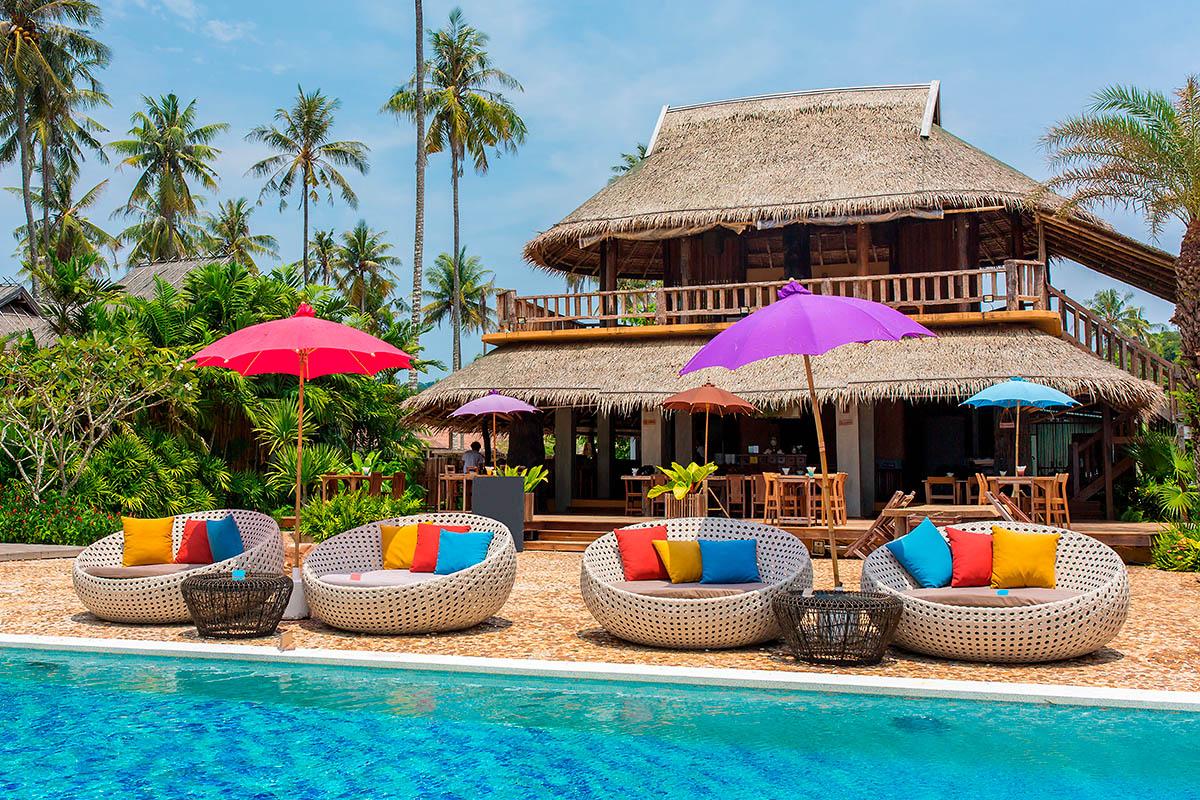 thaimaa koh kood hotelli uima-allas