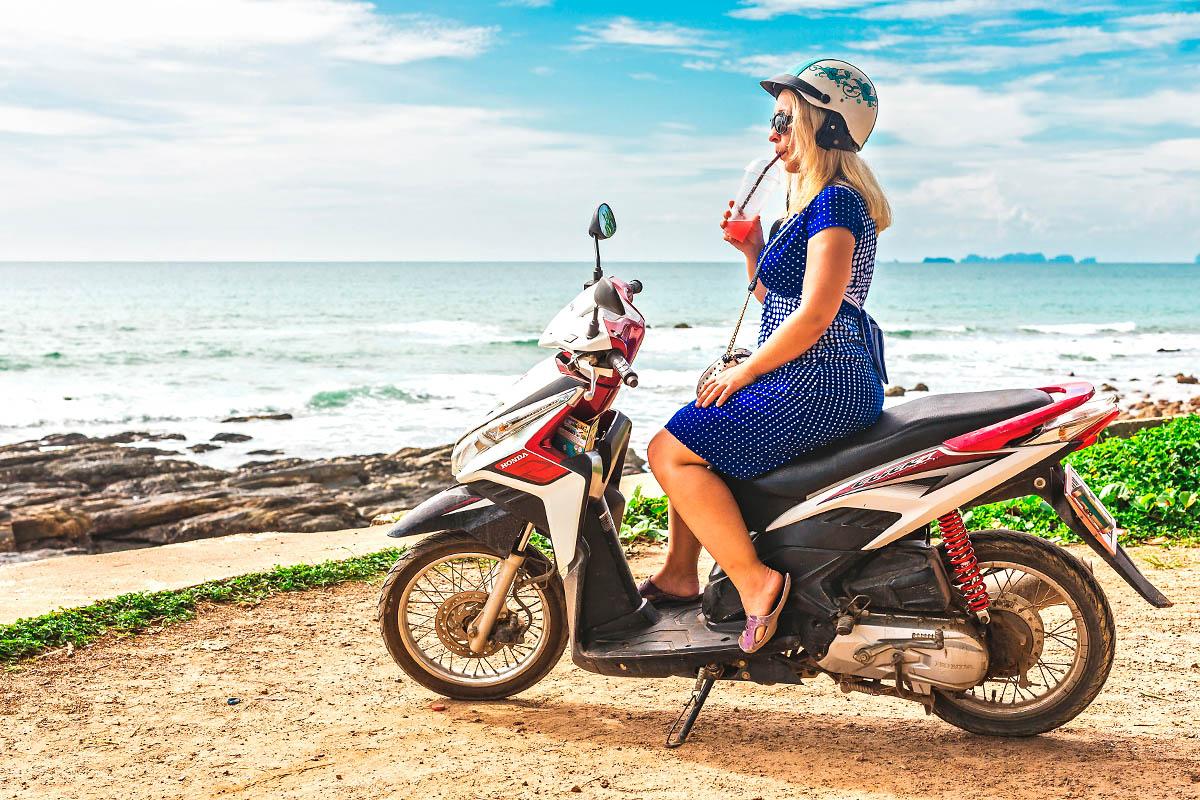 thaimaa skootteri