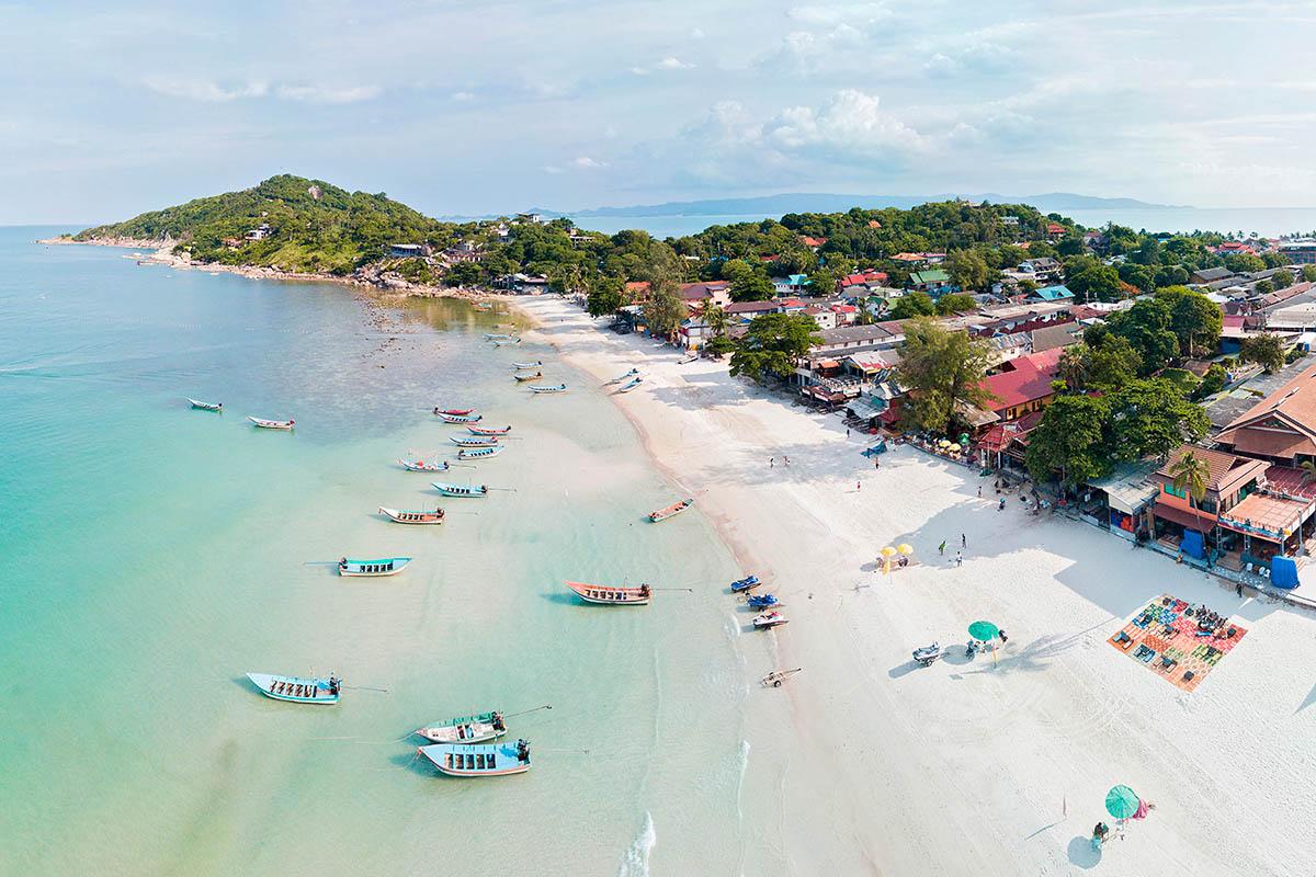 thaimaa phangan haad rin ranta