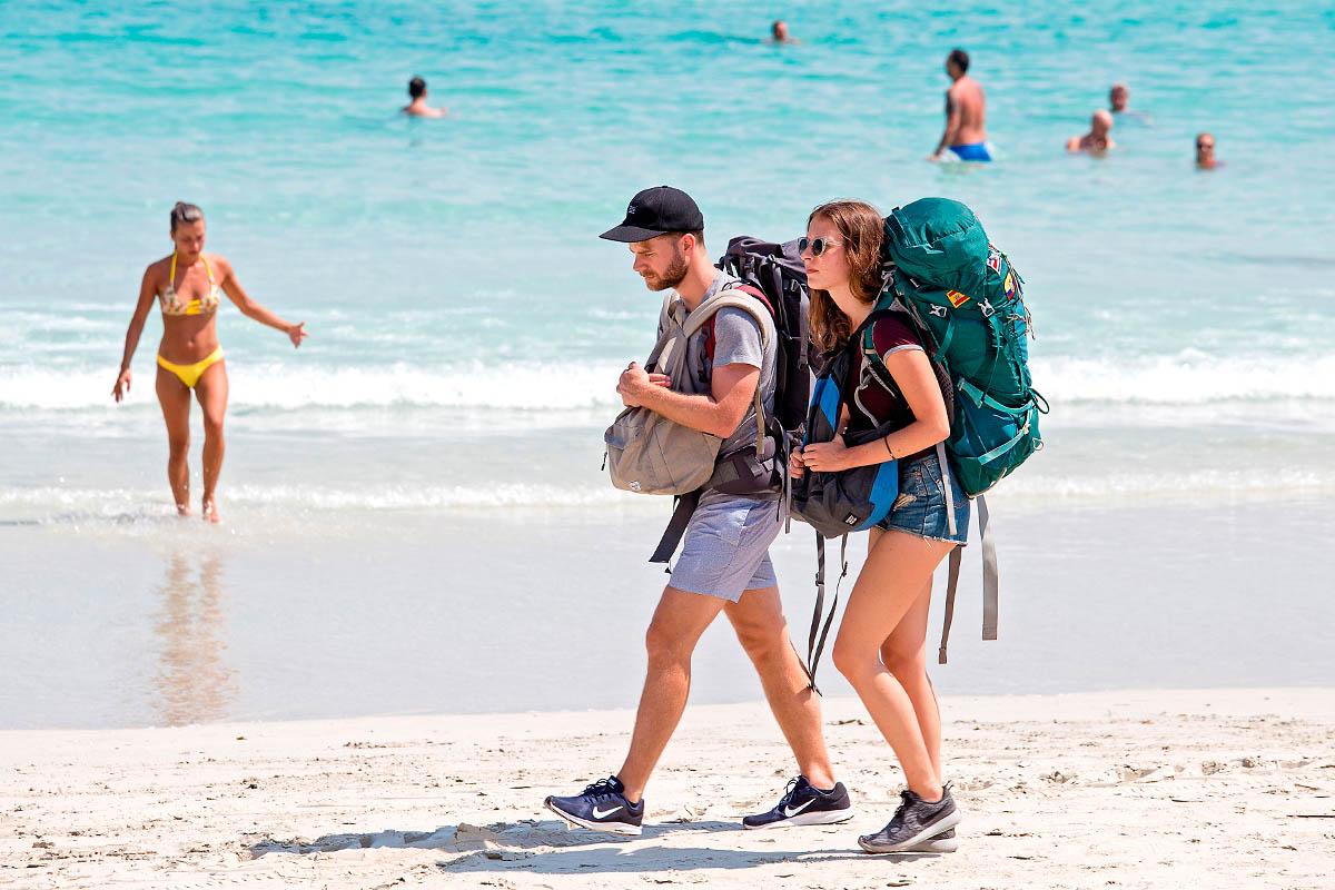 thaimaa backpacker reppureissaaja