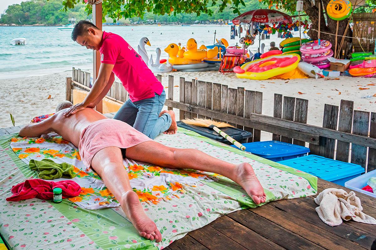 thaimaa koh samet thaihieronta
