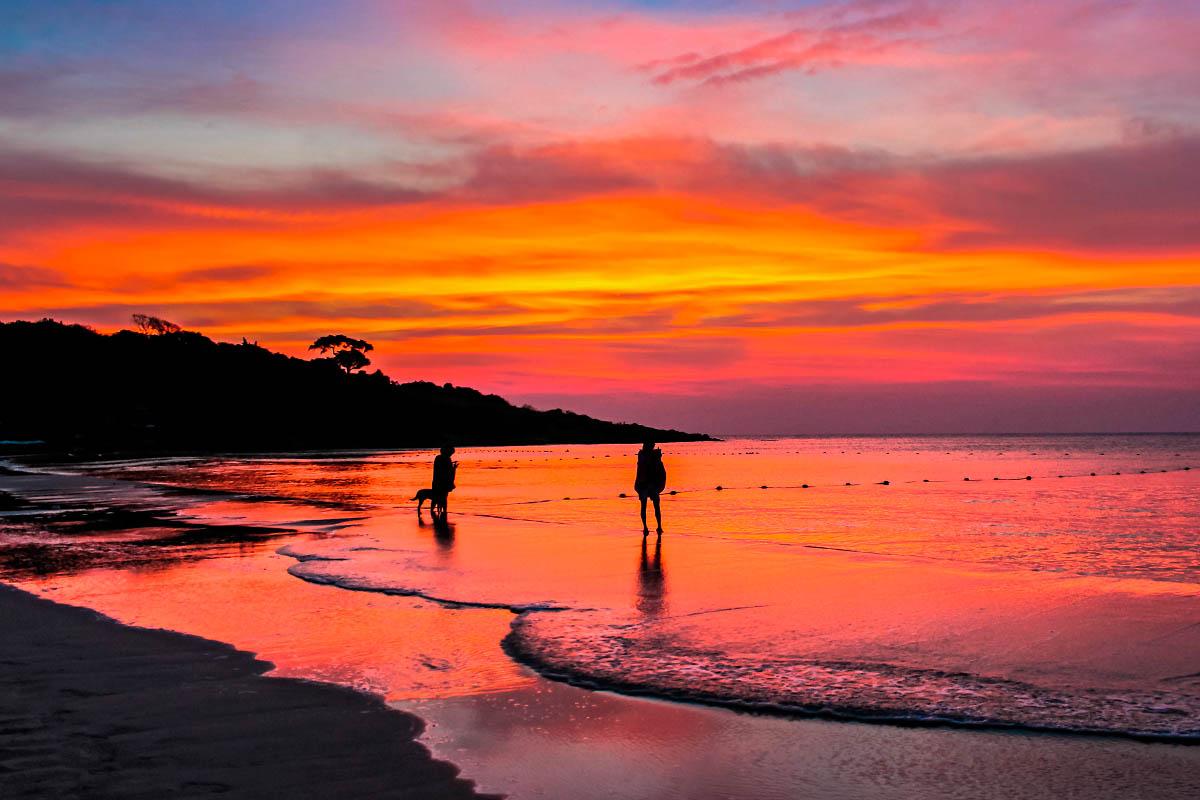 thaimaa koh samet auringonlasku