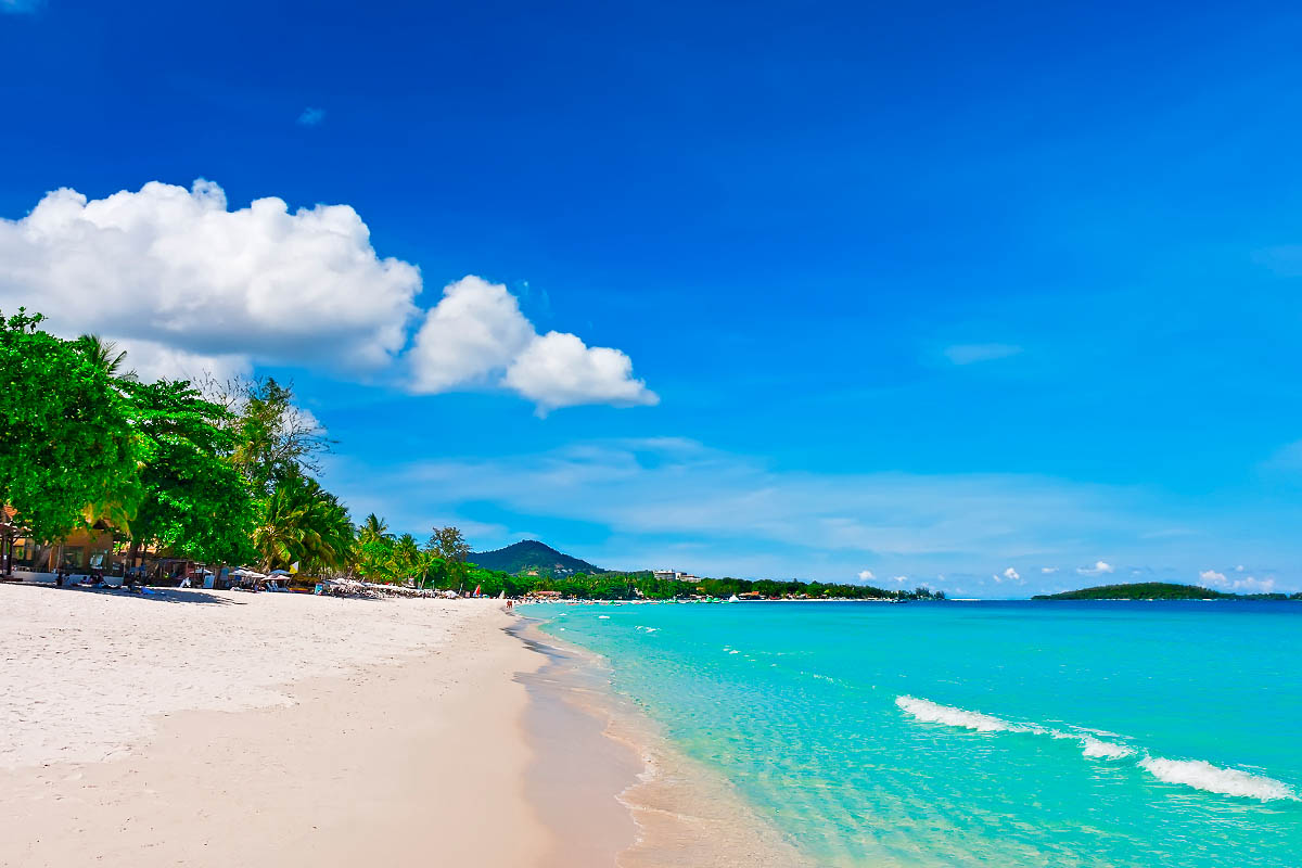 thaimaa samui hiekkaranta