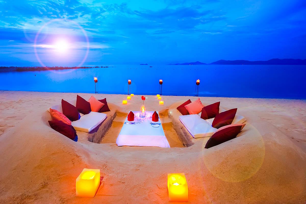 thaimaa rantaravintola