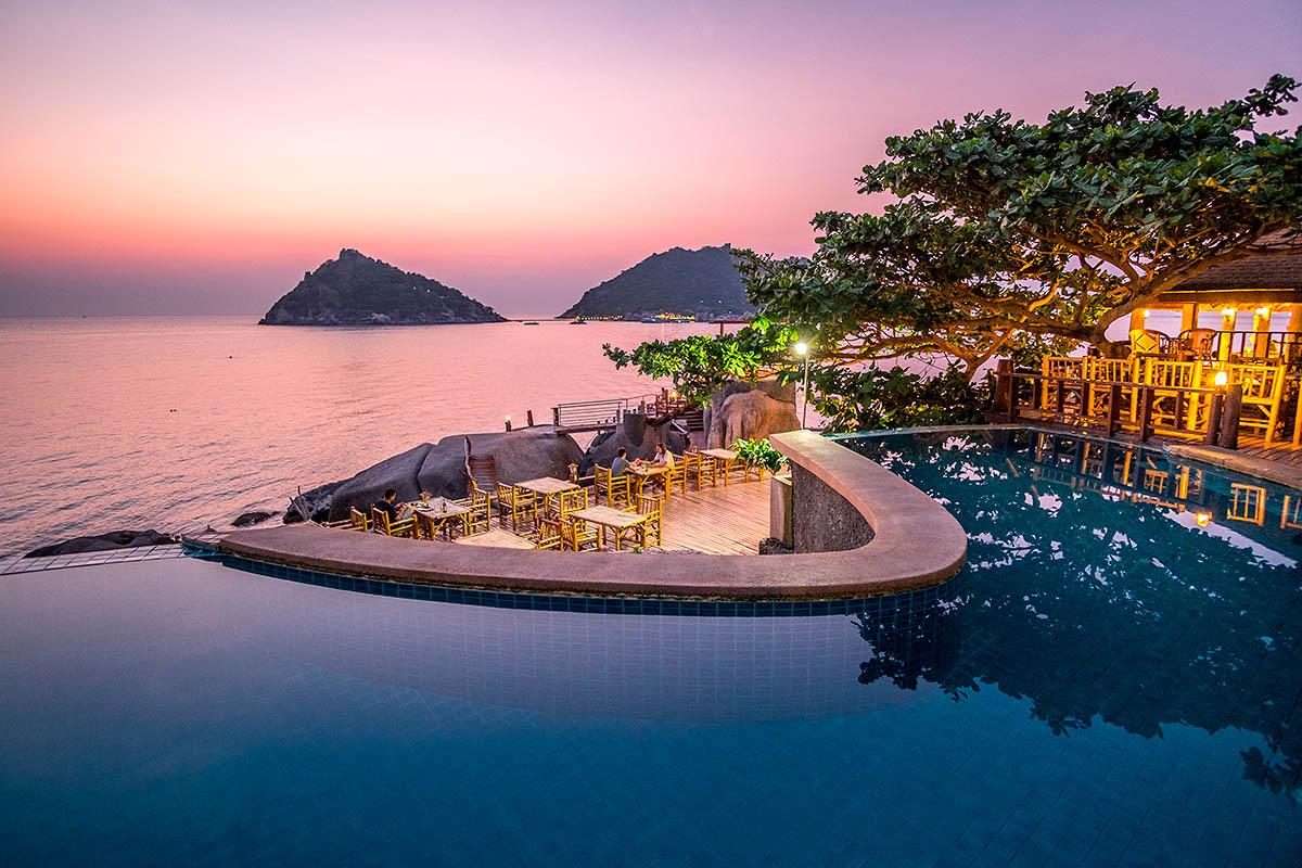 thaimaa koh tao uima-allas