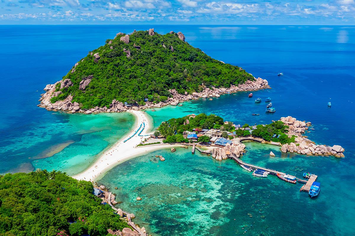thaimaa Nang Yuan saari