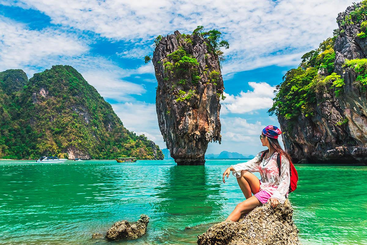 thaimaa krabi james bond island