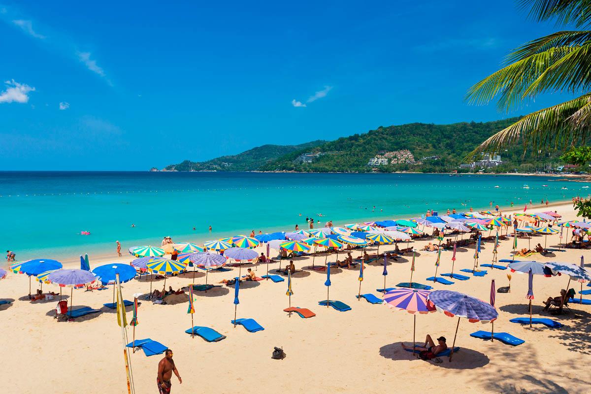 thaimaa phuket ranta patong
