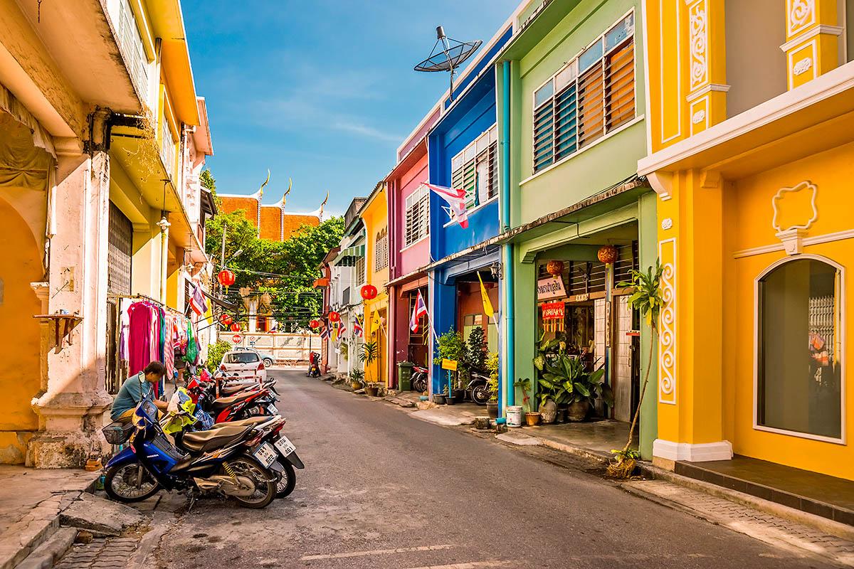 thaimaa phuket kaupunki