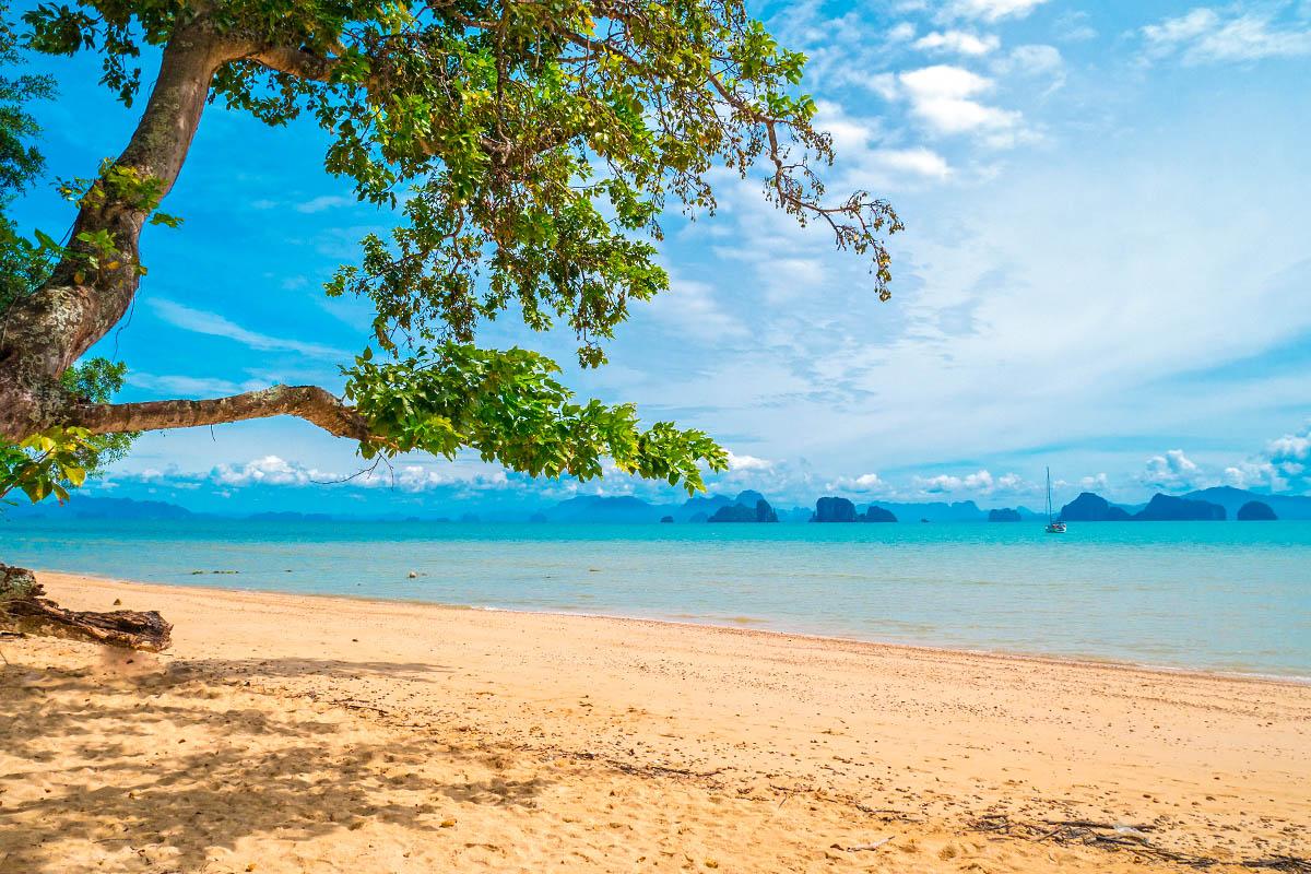 thaimaa yao noi autio hiekkaranta