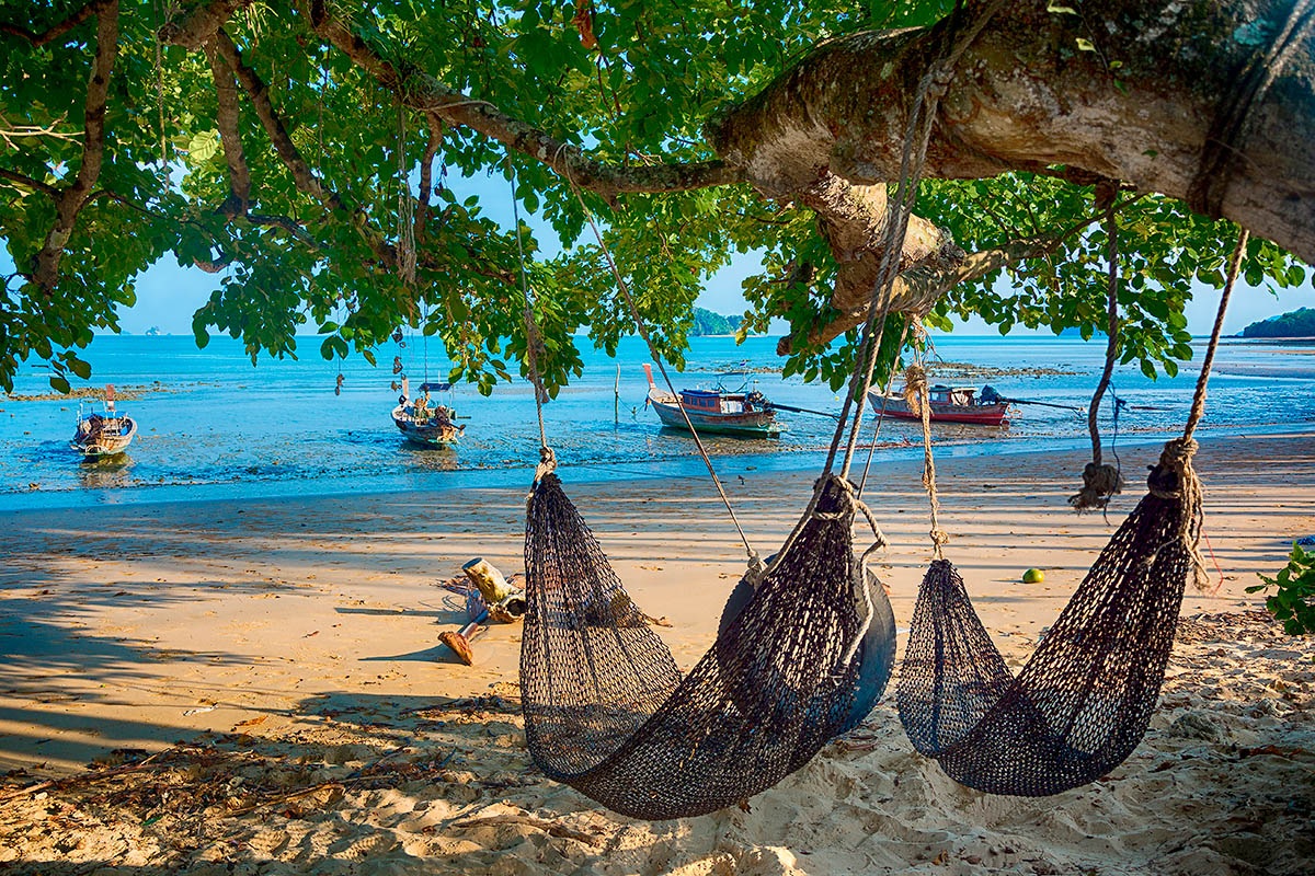 thaimaa yao noi riippumatto hiekkaranta