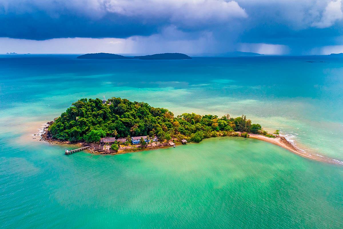 thaimaa siaminlahti saari