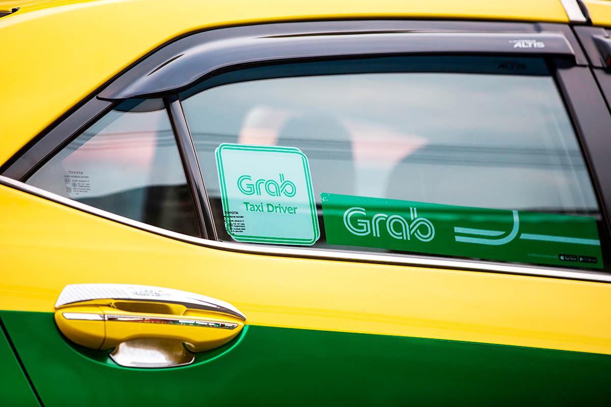 thaimaa taksi grab uber