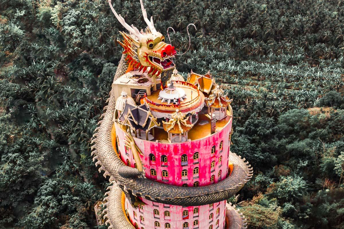 Lohikäärmetemppeli Wat Samphran